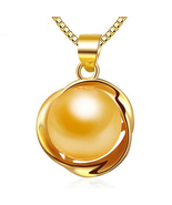 Fashion Women Sterling Silver Shell Pearl Pendant - $14.99