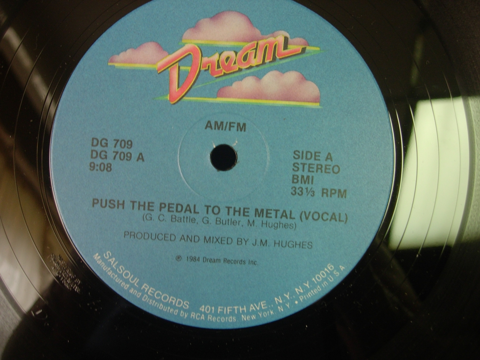 AM / FM - Push the Pedal To the Moon - Dream Records DG709