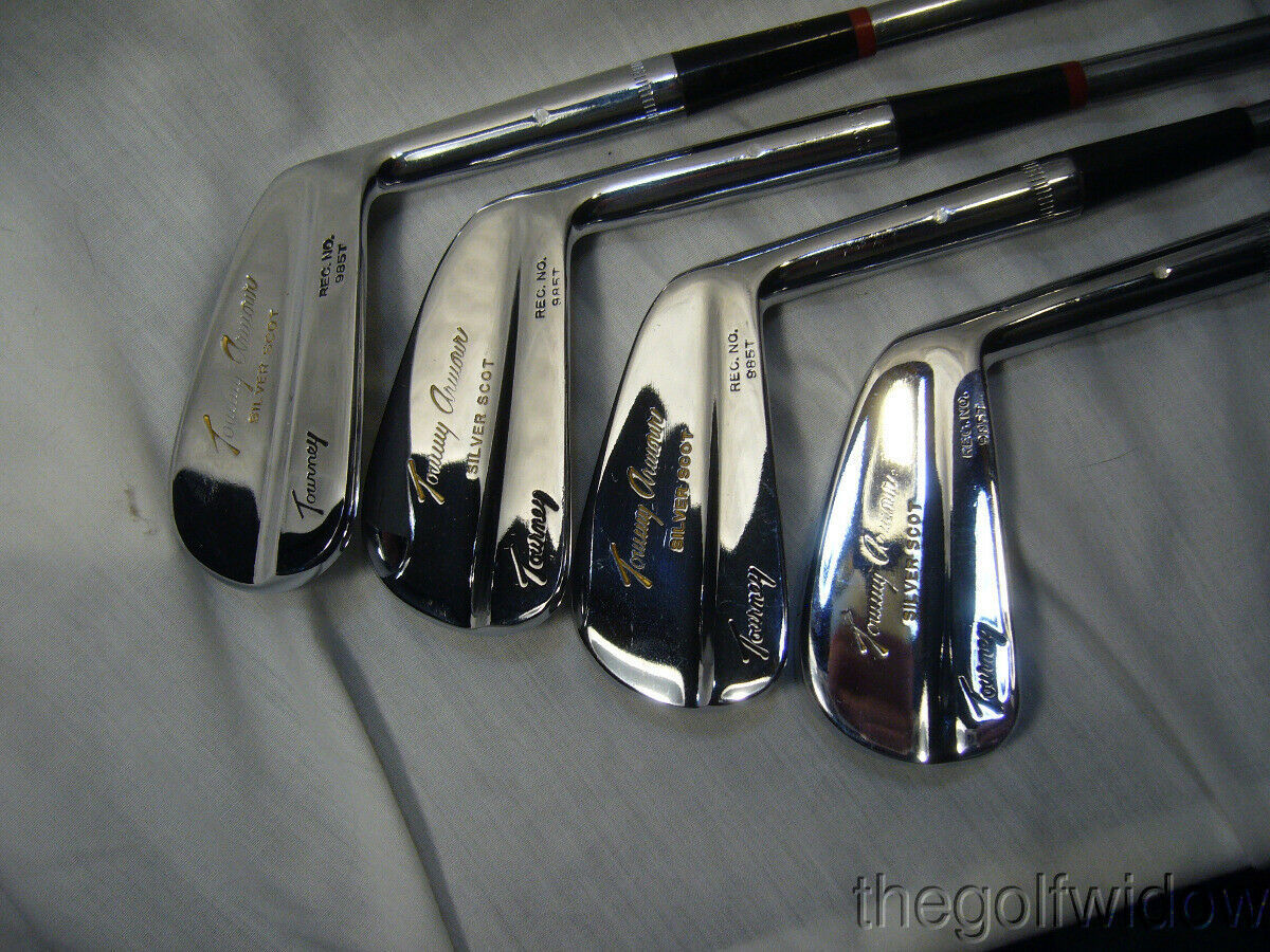 Vintage Tommy Armour Irons 2 - 9 Some are Rechromed with Rust