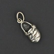 Vintage Birkenstock Closed Toe Clog Sandal Shoe Sterling Silver Charm Heavy 925 - $17.24