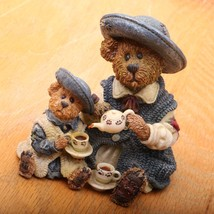 Boyds Bears and Friends The Bearstone Collection Fine Cup Of Tea 02000-21 - $18.69