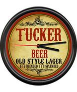 Tucker Beer Brewing Company Tavern Man Cave Retro Vintage Bar Sign Wall ... - $21.12