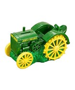 John Deere Vintage Tractor Polyresin Painted Savings Bank - $26.98