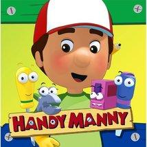 Handy Manny Party Supplies Lunch Napkins servilletas de almuerzo - 16 Each - $12.73