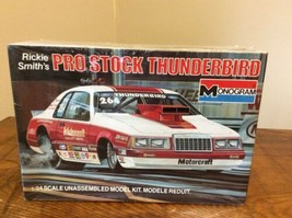 Monogram Rickie Smith's Pro Stock Thunderbird Model Kit 1/24 Scale No. 2218 1984 - $74.95