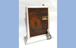 vintage STILL BANK w/KEY~BALTIMORE FEDERAL SAVINGS perpetual calendar,pi... - $124.95