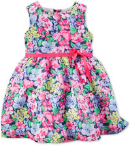 Carter's Baby Girls' Floral-Print Dress, Size 3 Months, MSRP $40 - $17.81