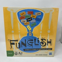 Hasbro Funglish Family Board Game Ages 12+ 2009 NEW & SEALED - $9.69