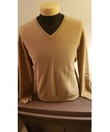 JOS A Bank 100% Cashmere V-Neck Sweater - $39.00