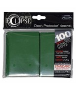 Ultra PRO Matte ECLIPSE Forest Green Deck Protector Sleeves 100ct ULP85605 - $11.75