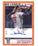 2020 Topps Big League Autographs Orange #BLA-JA Jim Abbott Angels NM-MT (Autogra - $89.99