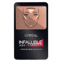 L'Oreal Infallible Pro-Contour Contour and Highlight Palette #815 Deep - $3.99