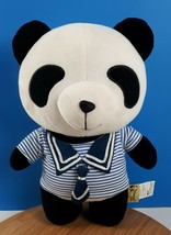 "Panda House Plush Sailor Sweater Cute Panda Bear Stuffed Animal 11"" - $43.11"