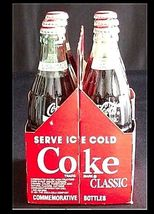 Vintage Coca Cola Classic 6 Pack Collection AB 10 image 3