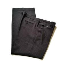 Sandro Sportswear 12 Pants Dark Gray Career Dress Trousers Waist 36 Inse... - $19.99