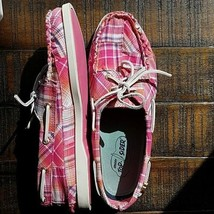 Sperry Top-Sider Women's Rainbow Plaid Boat Shoes 9.5M - $39.50