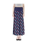 Women's Fish Doodle Printed Elastic Boho Full Length Maxi Skirt (XS-3XL,... - $28.99+
