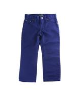 Ralph Lauren Boys Slim Fit Cotton Chino Pants - Deep Sapphire, Size 2/2T - $30.00