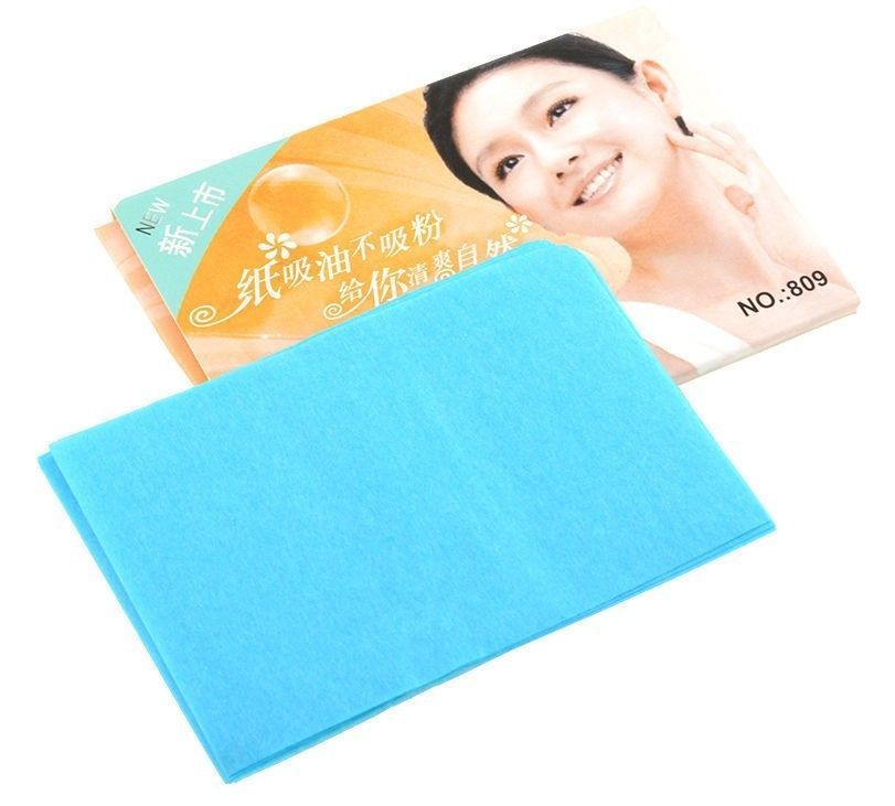 Primary image for Facial Oil Control Absorption Film Tissue Clean Makeup Removal Paper Beauty Item