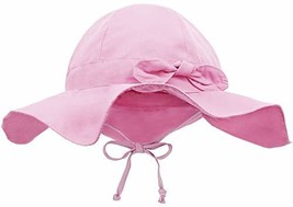 Siero Sunhats for Babies with UPF 50+ Adjustable Kids Cap, Pink 2-4 Years - $19.45