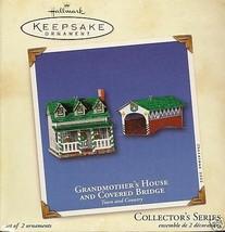 2002 Grandmother's House & Covered Bridge - $19.99