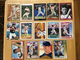 Jeff Bagwell 14 Baseball Card Lot NM/M Condition Houston Astros Topps - $2.24