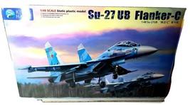 Kitty Hawk 1/48 Su27UB Flanker C Plastic Model Kit KH80168 - $129.99
