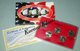 2005 Denver Mint Edition State Quarter Collection - CA, OR, KS, MN, WV - $12.55