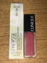 CLINIQUE Pop Liquid Matte Lip Colour + Primer 6ml 02 Flame Pop BRAND NEW... - $10.88
