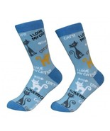 I Love My Cat Socks Unisex Dog Cotton/Poly One size fits most - $11.99