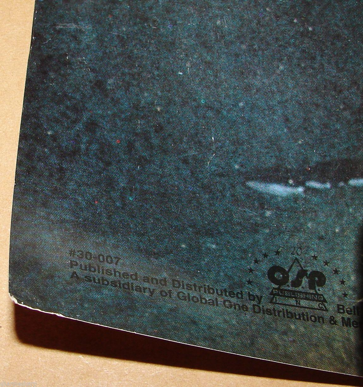"1997 BATMAN & ROBIN Movie MR. FREEZE GLOW IN THE DARK POSTER 23x34.5"" 30-007 2"