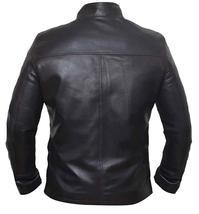 Star Space Hero Dameron Brown Isaac Real Leather Wars Jacket image 5