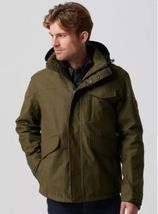 TIMBERLAND MEN'S RAGGED MOUNTAIN 3-IN-1 WATERPROOF FIELD JACKET A1AI4302... - $167.31