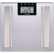 Taylor(R) Precision Products 57364102F Body Fat Digital Scale (Silver) - $51.88