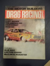 Vintage April 1975 Issue Of DRAG RACING Magazine Part One The Motor Buiders - $17.81
