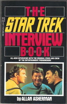 The Star Trek Interview Book Trade Paperback, 1988 NEW - $5.90