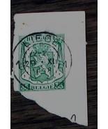 Nice Vintage Used Belgique Belgie 35 Stamp, GOOD COND - 1940's - $2.96