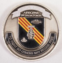 Airborne 1st Special Forces 5th Special Forces GP Challenge Coin - $62.99