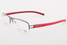 Tag Heuer 7624 010 Track Red Black Eyeglasses 7624-010 57mm - $224.42