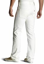 Levi's 501 Men's Original Straight Leg Jeans Button Fly White 501-0651 image 2