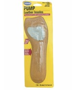 Dr Scholl's Leather PUMP Insoles CUSHIONING COMFORT Sz 5-10 Trim to Fit - $12.86
