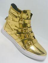 Men's Jump J75 Zealot - Gold High Top Fashion Sneakers  - $199.00