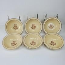 "Pfaltzgraff Village Design 6 Cereal Bowls 6"" x 2"" - $29.97"