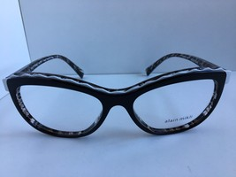 New ALAIN MIKLI A 02019 A02019 4248 54mm Cats Eye Eyeglasses Frame Italy - $218.49