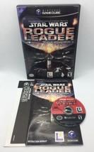 Star Wars: Rogue Leader Rogue Squadron II (Nintendo GameCube, 2001) CIB ... - $26.69