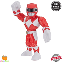 Red Power Ranger Mega Mighties Action Figure 10 inch Collectible Ages 3 ... - $14.99