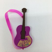 "Barbie Dreamhouse Adventures Daisy Doll's Travel Guitar - 5"" x 2"" Guitar Only - $9.49"
