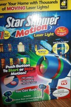Star Shower Motion Laser Light Shower Your Home with Thousands of Laser ... - $44.99
