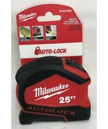 Milwaukee - 48-22-6825 - 25' Compact Auto Lock Tape Measure - $19.75