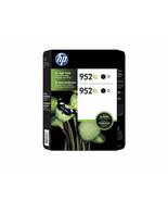 HP 952XL High-Yield Black Original Ink Cartridge (2 Pack)  N9K29BN - $83.99